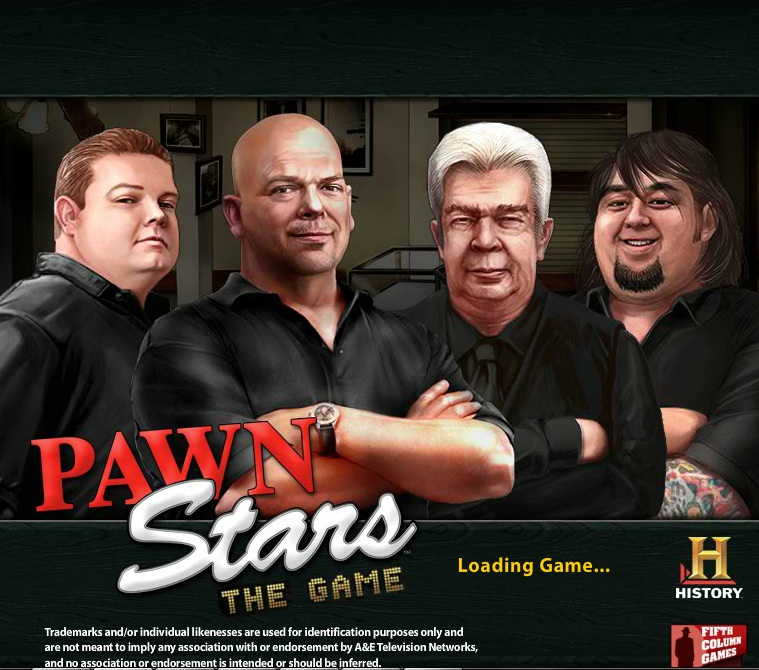 Pawn Stars Game Online