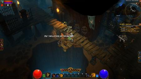 Silence of the Lambs meets Torchlight 2