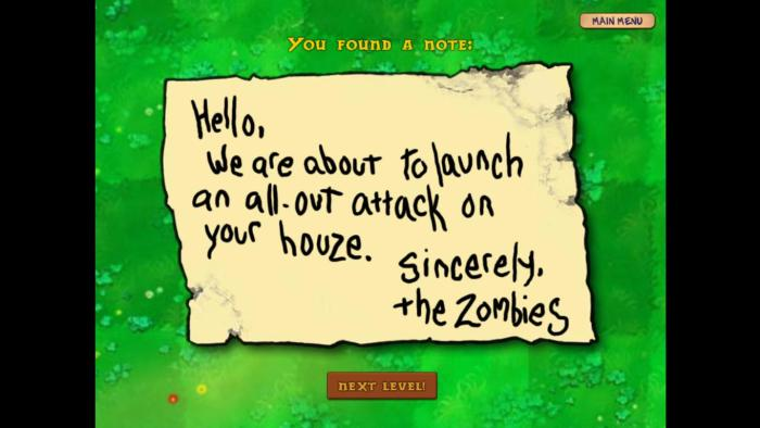 Thanks for the notice zombies!