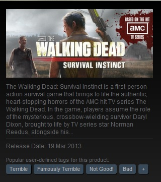 walkingdeadsurvivalinstinctterrible